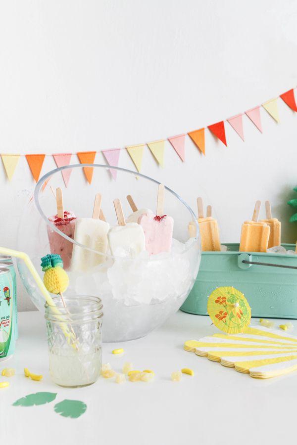 Tropicolada Popsicle Party