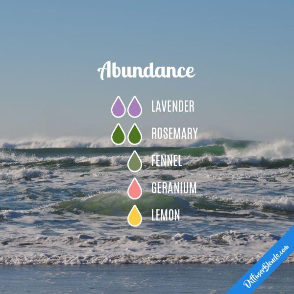 Abundance - Essential Oil Diffuser Blend