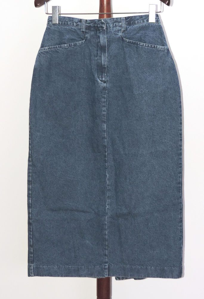 d69b9e6c0b5 Jessie Sport Plus size 14W Long Maxi Straight Pencil Denim Skirt   JessieSport  Pencil
