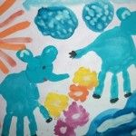 Hand Painting Ideas for Kids from the Very Babyhood: http://developachild.net/hand-painting-ideas-for-kids/