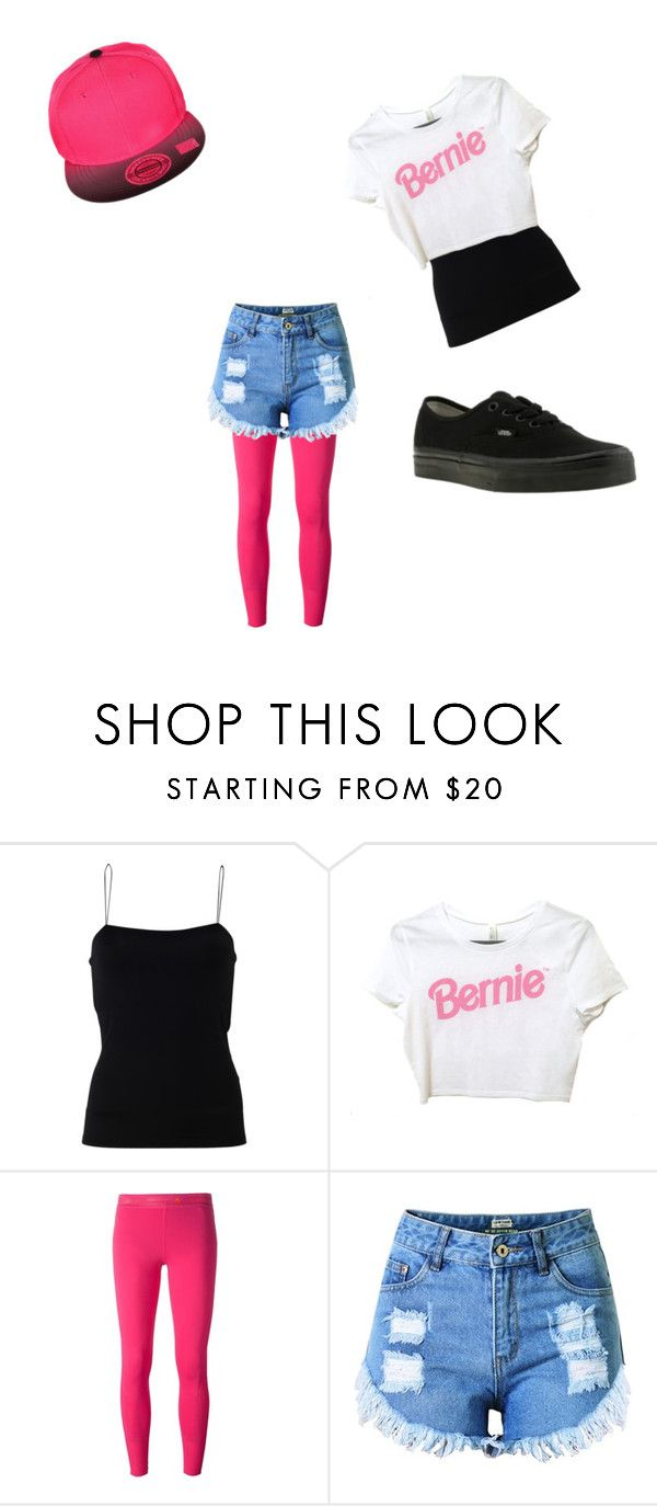 my style by alicejudo on Polyvore featuring T By Alexander Wang, Topshop, adidas and Vans