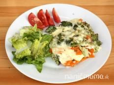 Zapekaná brokolica s mrkvou - recept