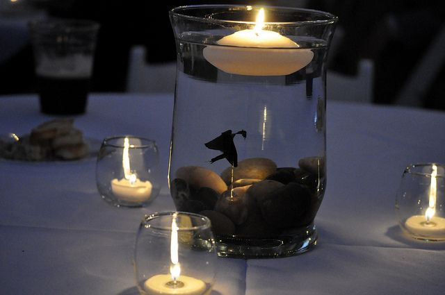 beta fish centerpieces by queenofthemoodswingset2, via Flickr