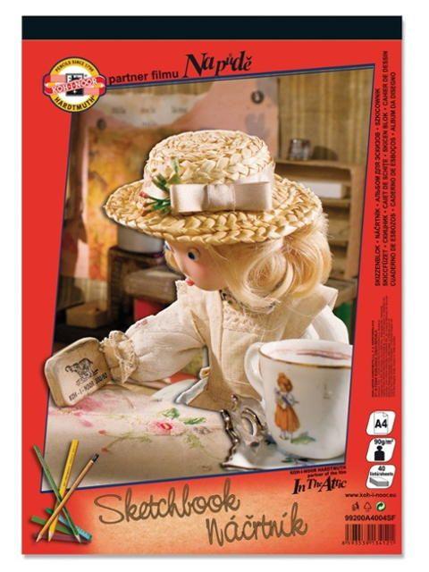 Альбом для рисования А4 KOH-I-NOOR 40 листов Купить: http://officepro.com.ua/product/num_63540.html