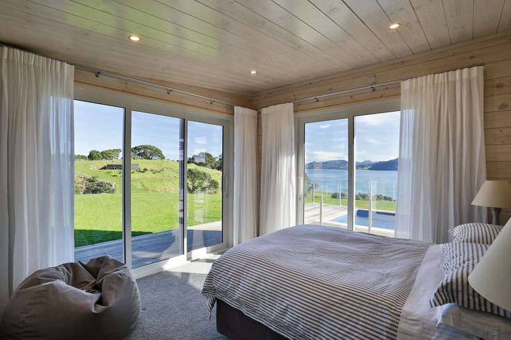 Why bother getting out of bed with a view like this! Stunning Verandah Plan master bedroom in a Lockwood home