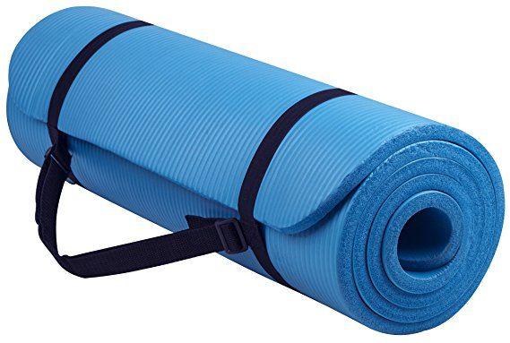 Amazon Com Balancefrom Bfgy Ap6pp Go Yoga All Purpose Anti Tear Exercise Yoga Mat With Carrying Strap Purple Sports Yoga Mats Best Mat Exercises Yoga Mat