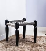 Buy Vyuti Stool with weaving work in Espresso Walnut Finish by Mudramark  Online: Shop from wide range of Stools Online in India at best prices. ✔Free Shipping✔Easy EMI✔Easy Returns