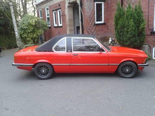 Bmw e21 baur convertable For Sale (1982)