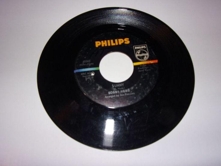 "45"" Bobby Hebb: Sunny / Bread / 1966  #FunkSoul"
