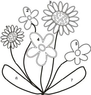 Patterns for applique flowers