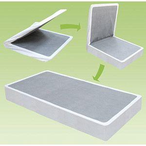 "Spa Sensations 7.5"" High Bi-Fold Box Spring..the solution to townhouse living!"