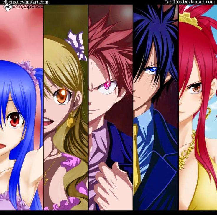Manga Blog Indo: komik fairy tail 385/386 raja roh bintang melawan ...