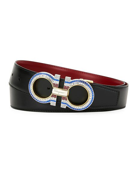 SALVATORE FERRAGAMO   Men s Smooth Gancini Belt   CAD 1,248.69   Salvatore  Ferragamo smooth belt with 826ab59f97