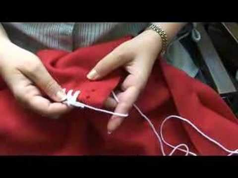 This video has been updated.  The new video is called Crocheted Edge Fleece Blanket