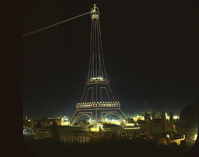 .: Tours Eiffel, Vintage Paris, French Cuisine, Paris At Night, Paris 1900, Eiffel Towers, Paris France, France Paris, Brooklyn Museums