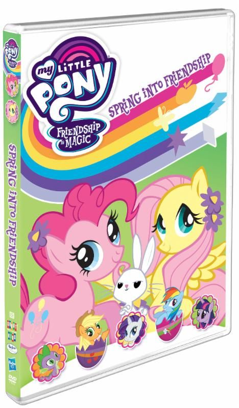 #Giveaway My Little Pony Friendship Is Magic: Spring Into Friendship Now on DVD!