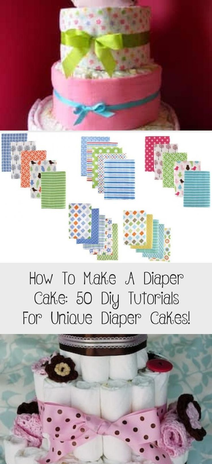 How to make a diaper cake easy step by step instructions