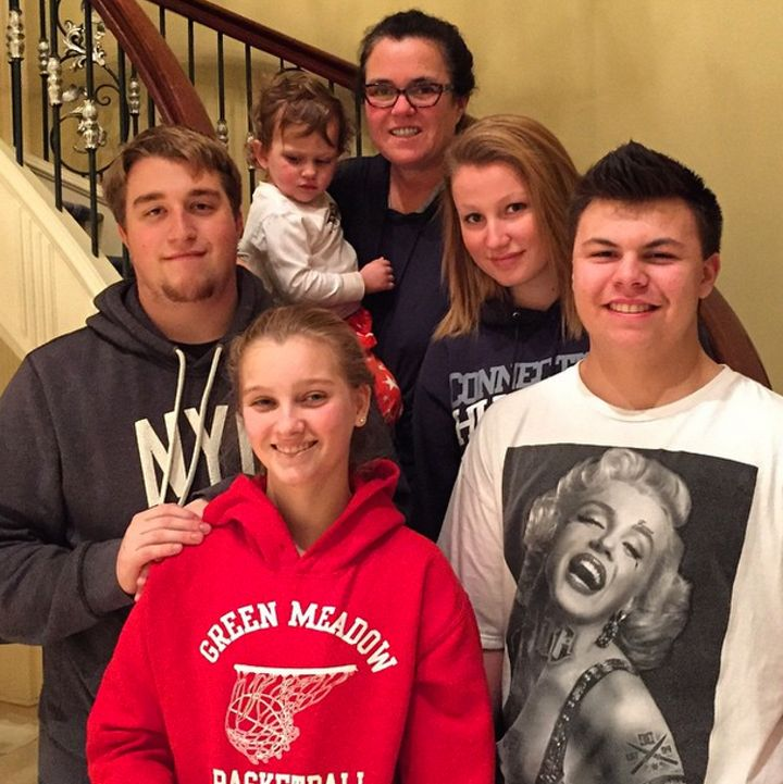 REPORT: Rosie O'Donnell and Ex-Wife Michelle Rounds Fighting for Custody of Adopted Daughter