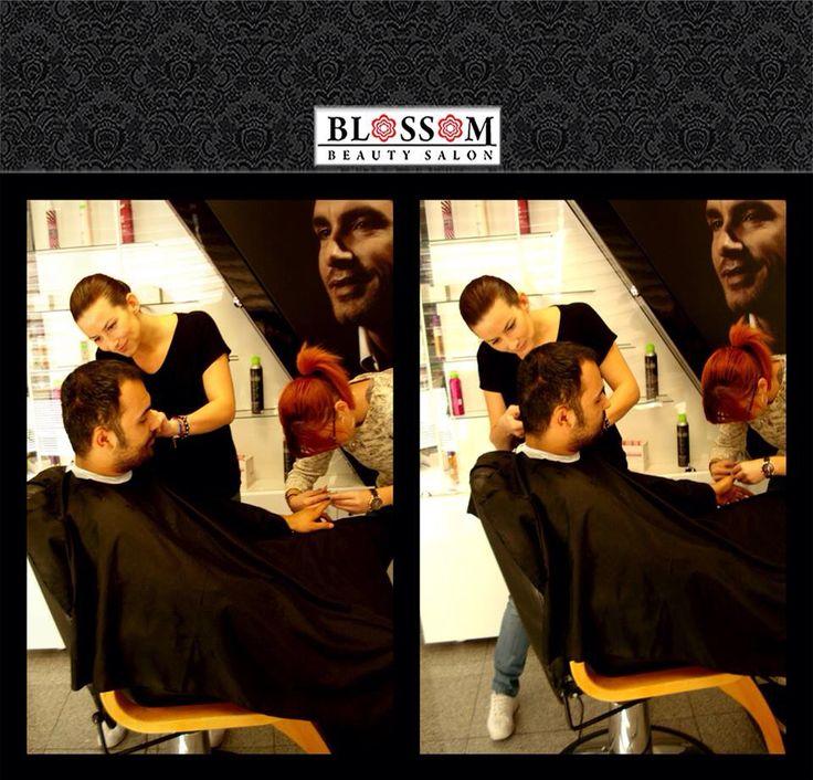 This is how men are treated at Blossom Beauty Salon   Salonul nostru oferă servicii de îngrijire și înfrumusețare și bărbaților. Pentru bărbați folosim produse dedicate îngrijirii masculine.  #bestmencare #mencare (manichiură și frizerie)