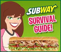 Visiting Subway after work today or maybe even this weekend? Before you do, check out HG'S SUBWAY SURVIVAL GUIDE!!! We've rounded up our best advice about the sandwich chain just for you...
