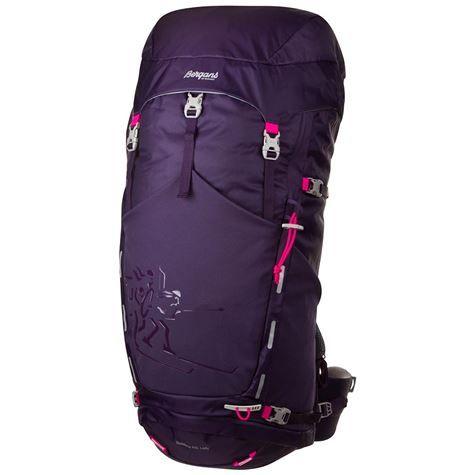 Bergans Rondane Lady tursekk, 65 liter - Blackberry/Pink