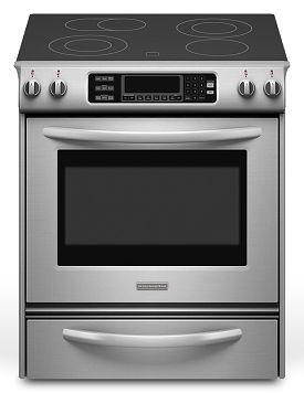 When I redo the kitchen a slide in is on my wish list KitchenAid YKESS907SS - Leon's