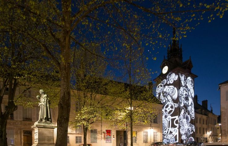 Beaune's trail of light - The Belfry © Michel Joly