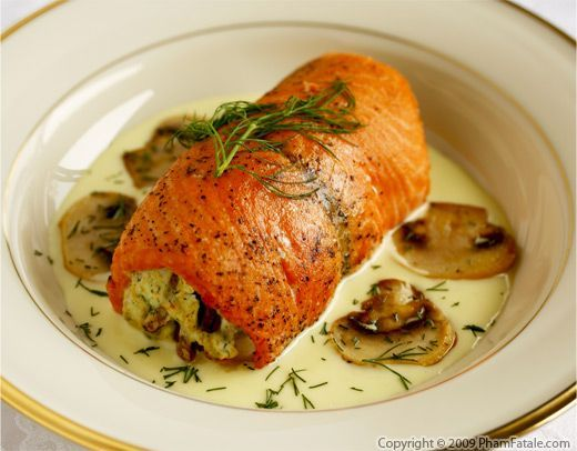 17 best images about the main course fish seafood on for Stuffed fish fillets