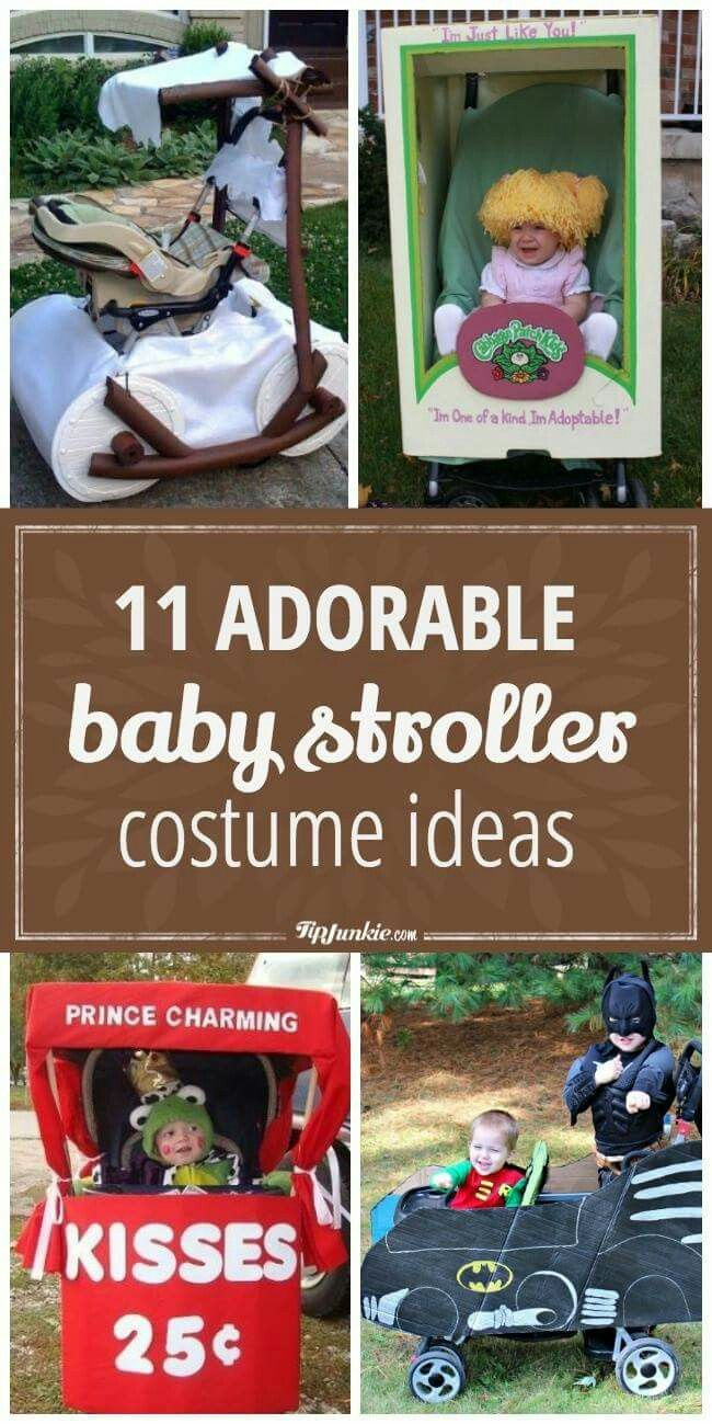 Baby Stroller Halloween costume ideas