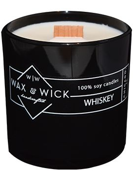 Hats & Handlebars | Whiskey Candle