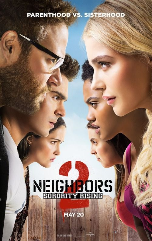 Neighbors 2: Sorority Rising DVD Release Date