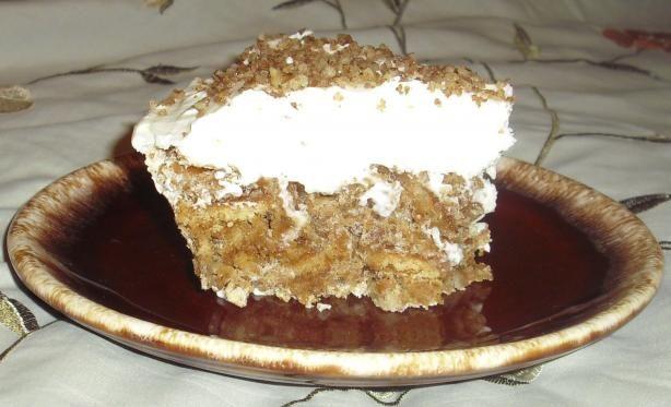 Luby's Cafeteria Butternut Brownie Pie. Photo by WoodysChef