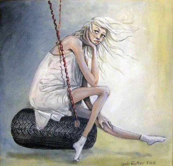 Fashion Illustration, Acrylics