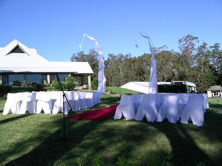 #baliflags #weddingceremony #redcarpet