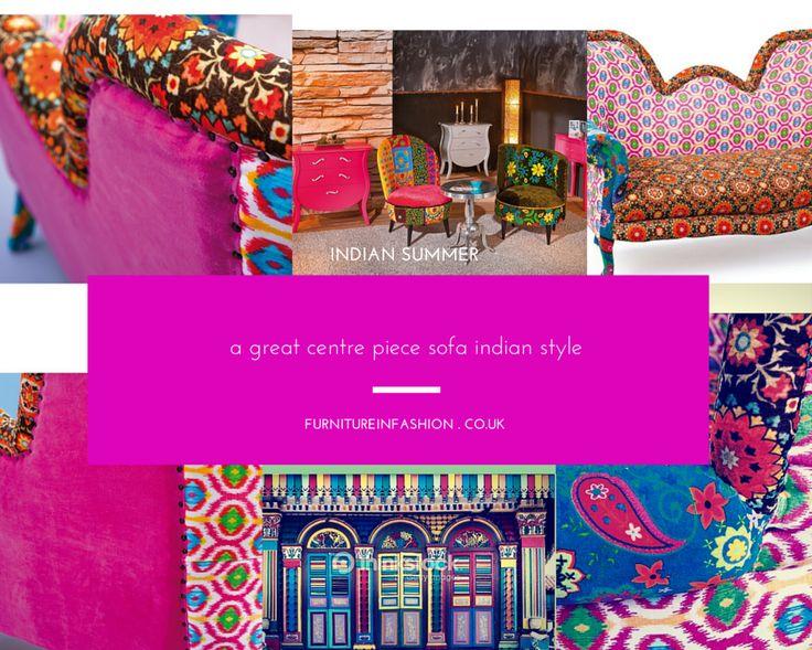 Indian Summer Living Room Sofa Fabric Furniture Sale India
