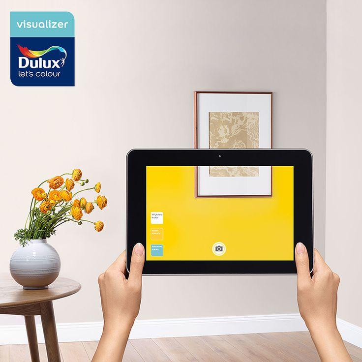 Planujesz pomalować mieszkanie, a nie wiesz, jakie kolory ścian wybrać? Z pomocą przychodzi Dulux Visualizer. Dzięki aplikacji możesz na żywo zobaczyć, jak będzie wyglądało Twoje pomieszczenie, jeszcze zanim zaczniesz malować! Pobierz darmową aplikację na swoje urządzenie mobilne i ciesz się kolorami Dulux!