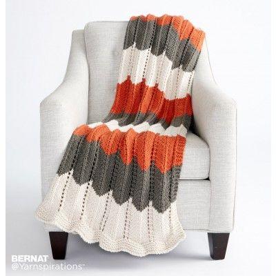 Free Easy Knit Blanket Pattern