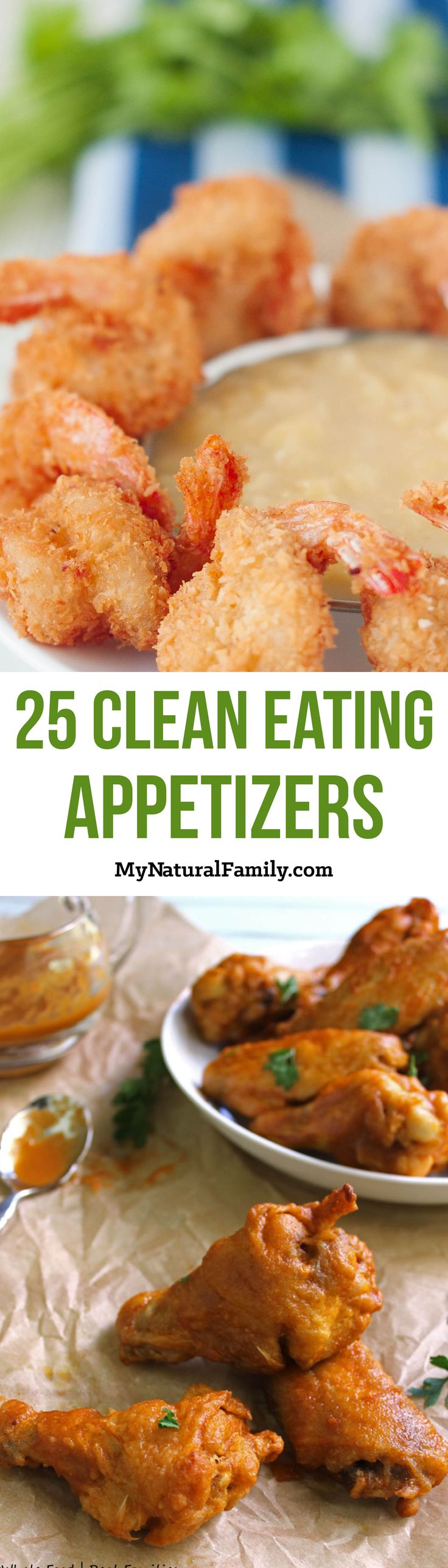 25 Easy, Cheap Clean Eating Appetizers Recipes - I love how there is an image for each recipe and a link to easily get the recipe.