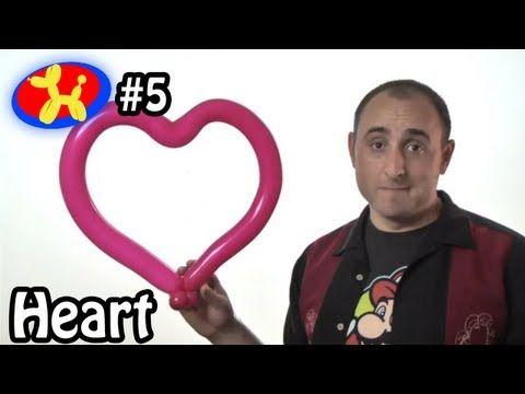 One Balloon Heart - Balloon Animal Lessons #5
