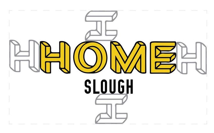 Part of the brand guidelines we developed for Rifco Art's HOME Slough project. This looks at exclusion zones how far the logo should sit from other elements #design #branding