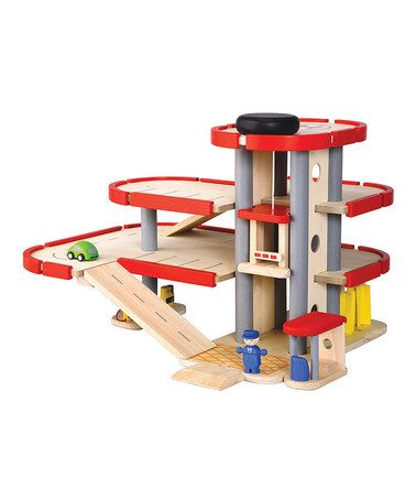 Take a look at this Parking Garage Set by PlanToys on #zulily today!