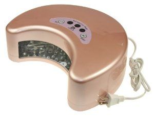 M.S 2012 Lastest 12w LED Lamp Light Nail Polish Dryer Harmony for Curing Gelish & LED Gels 30s-90s (Pink) by MelodySusie. $99.99. Energy-saving. LED is a low-power devices, low power consumption machine. The useful life is 5 years+ of non stop working, normal LED Lamp's life is 35,000-45,000 hours. Dose not produce heat, therefore prevents skin from wrinkling and getting dark,not harm the hands, it's safe. Without hazardous materials inside, LED is good for environmen...