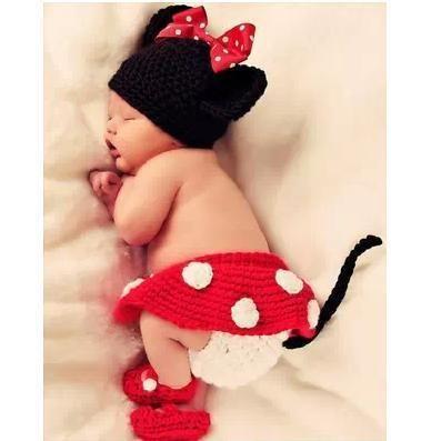 Handmade Wool Little Kids' Sets Knitted Baby Cap Beanie Girls' Shoes Dress Shorts, $26.47 | DHgate.com