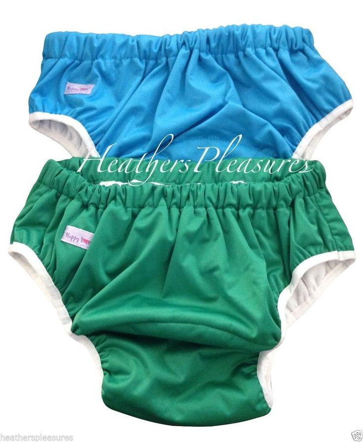 ADULT THICK Pull UP DIAPER COVER DISPOSABLE CLOTH Elastic Waist Baby Pull On