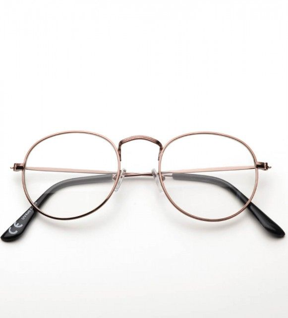 Okulary Zerowki Druciane Brylove Bordeaux Glasses Lens Style