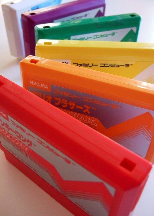 """Cassette"" ""Family Computer"" in Japan"