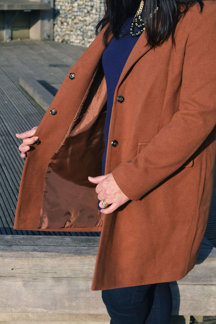 Camel Coat | 3/4 Coat | Debenhams | Fashion Over 40 | Fashion Moms