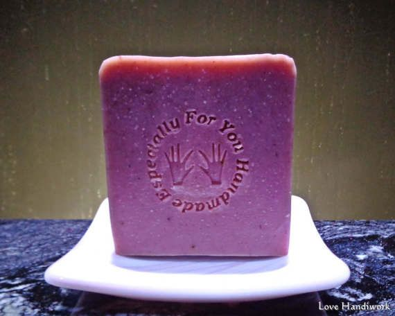 Mixed Berries Bar Soap  Handmade by LoveHandyWork on Etsy