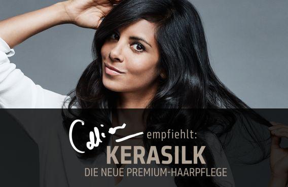 Collien Ulmen-Fernandes empfiehlt Goldwell Kerasilk für die Haare - erfahre hier alles rund um die Pflegeserie