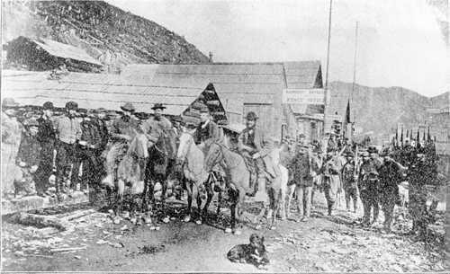 Barkerville + Horses